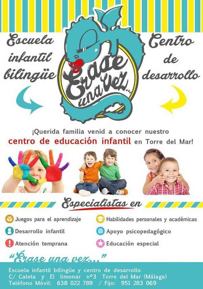 Escuela infantil Bilingüe en Torre del Mar