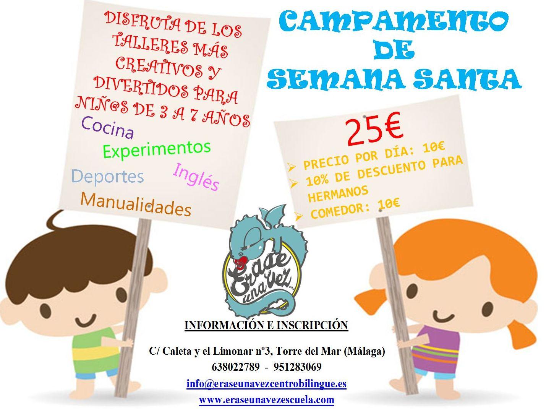 CAMPAMENTO DE SEMANA SANTA 2017