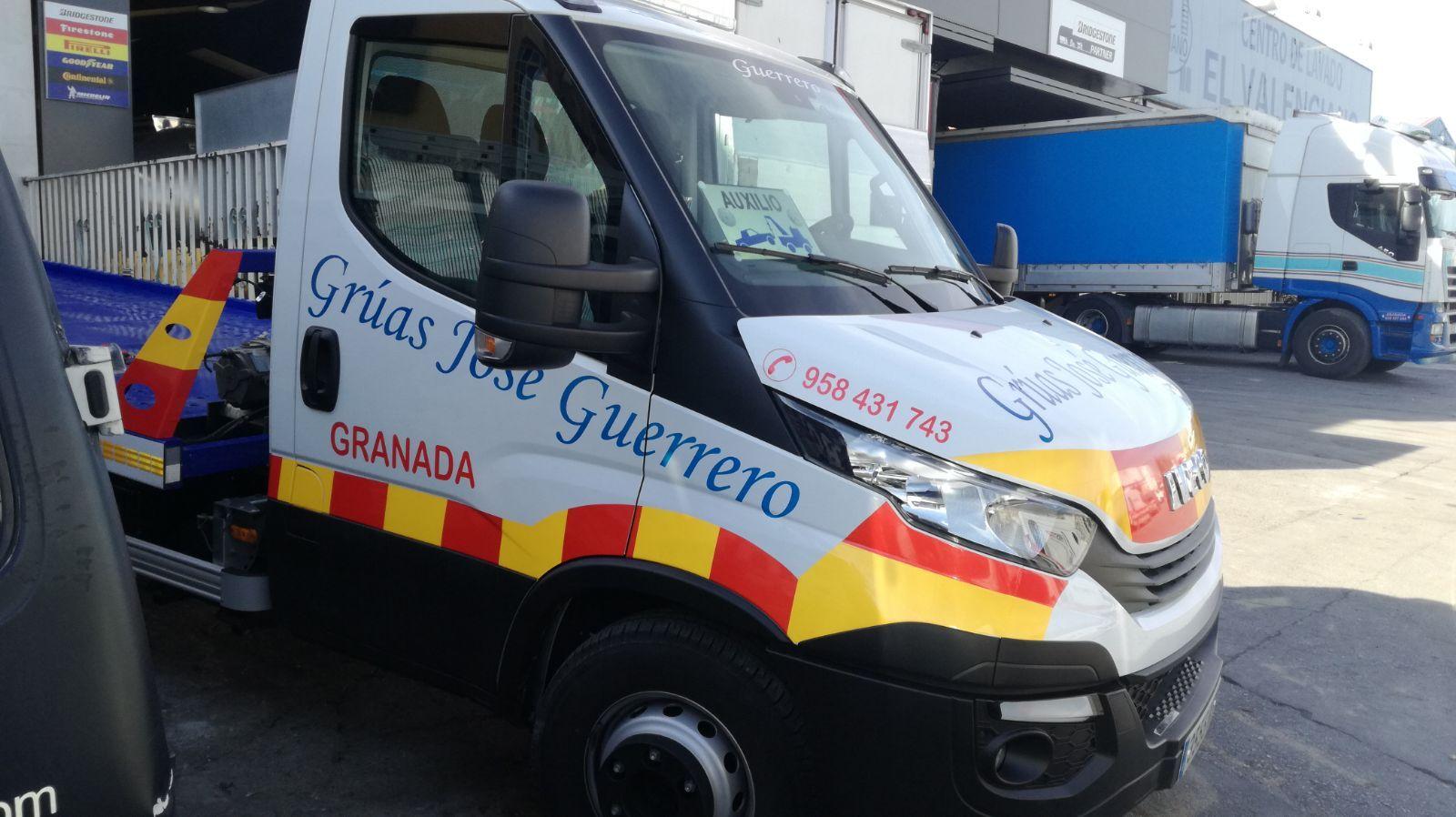 Rotulación de vehículos: Productos y servicios de Rótulos Alhambra