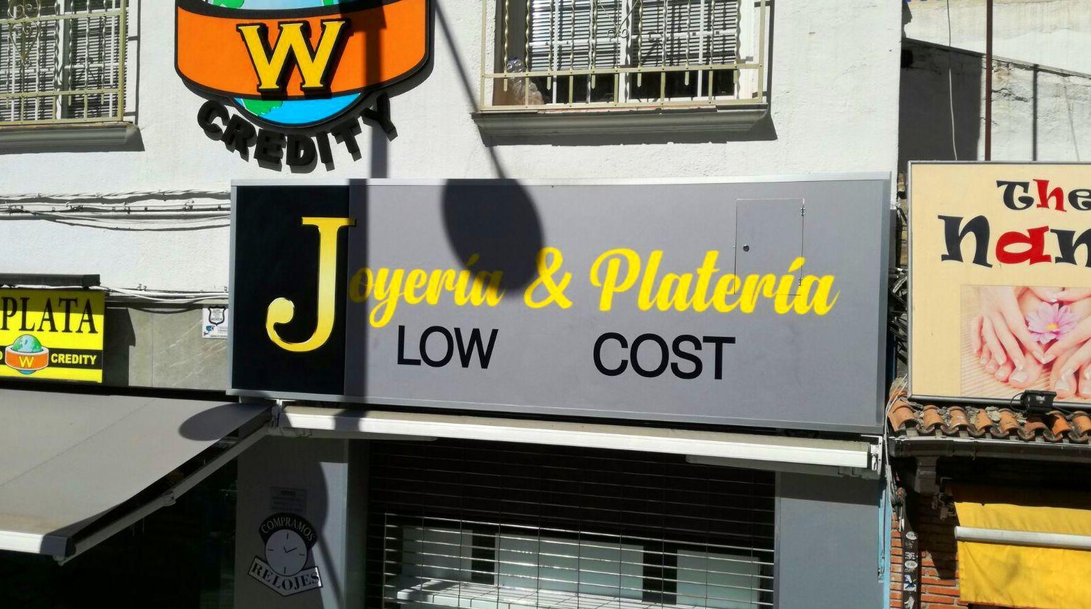 Joyería & Platería LOW COST diseño en corte de vinilo e impresión digital.