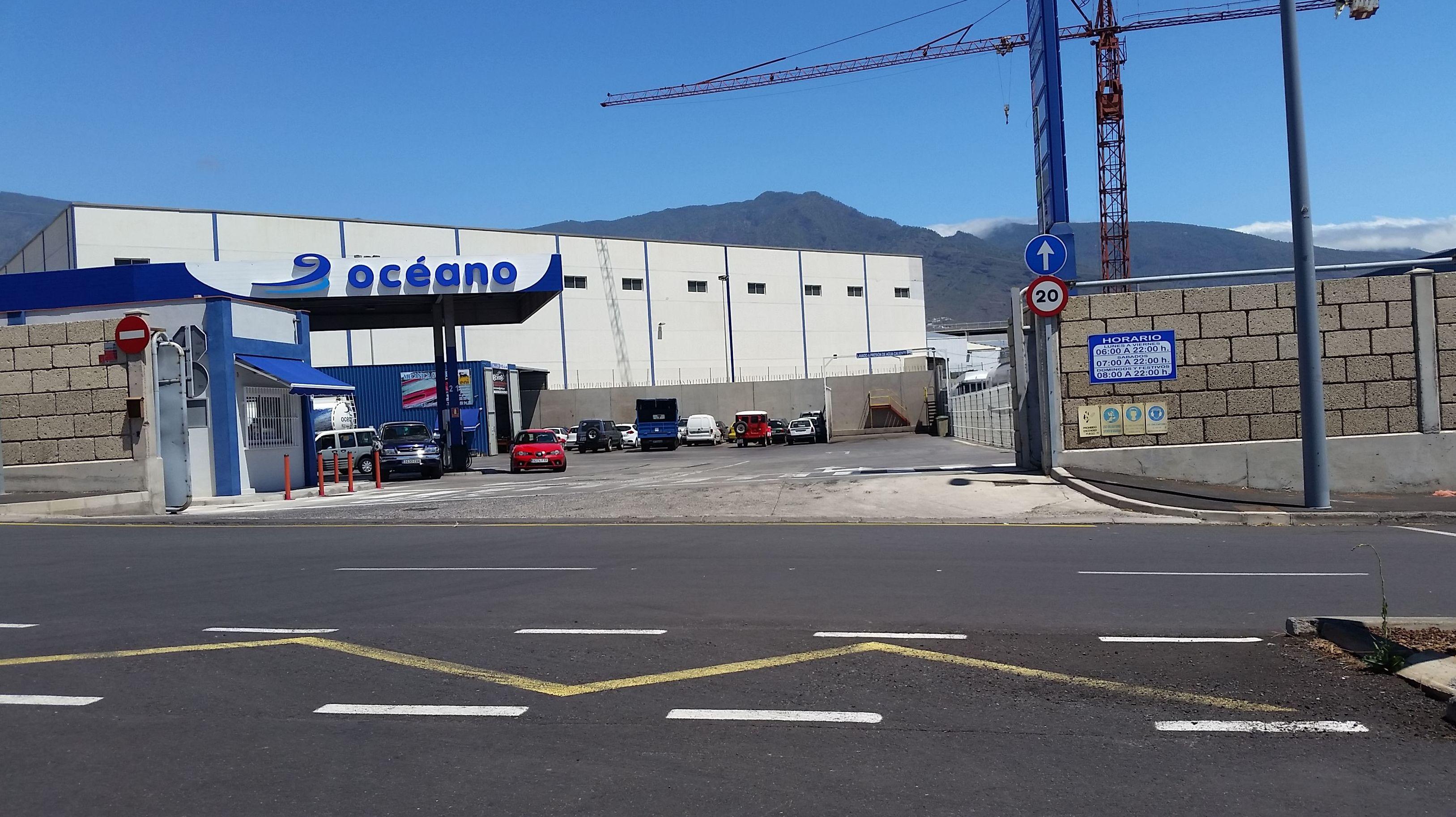 Taller de automóviles en Tenerife