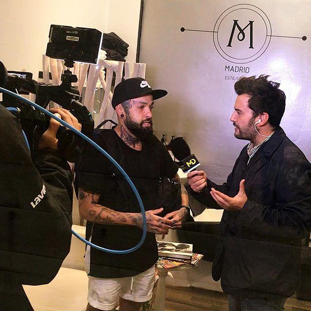 La televisión en M Madrid Estilistas