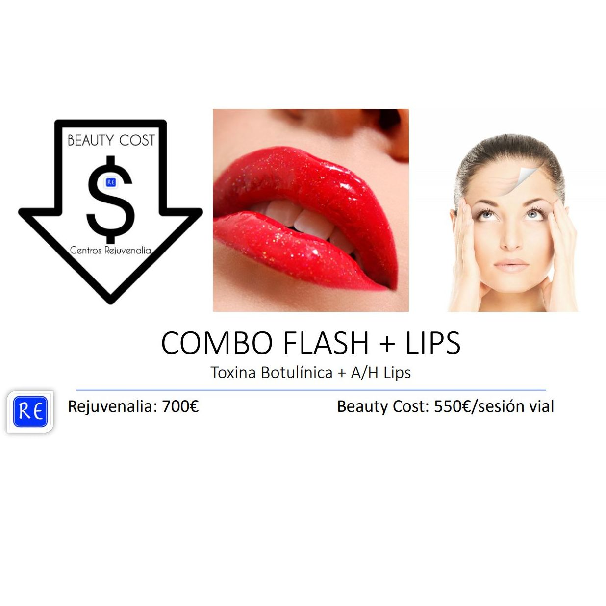 Combo Flash + Lips