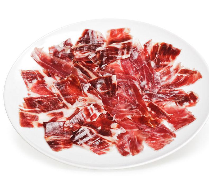 Plato de jamón ibérico