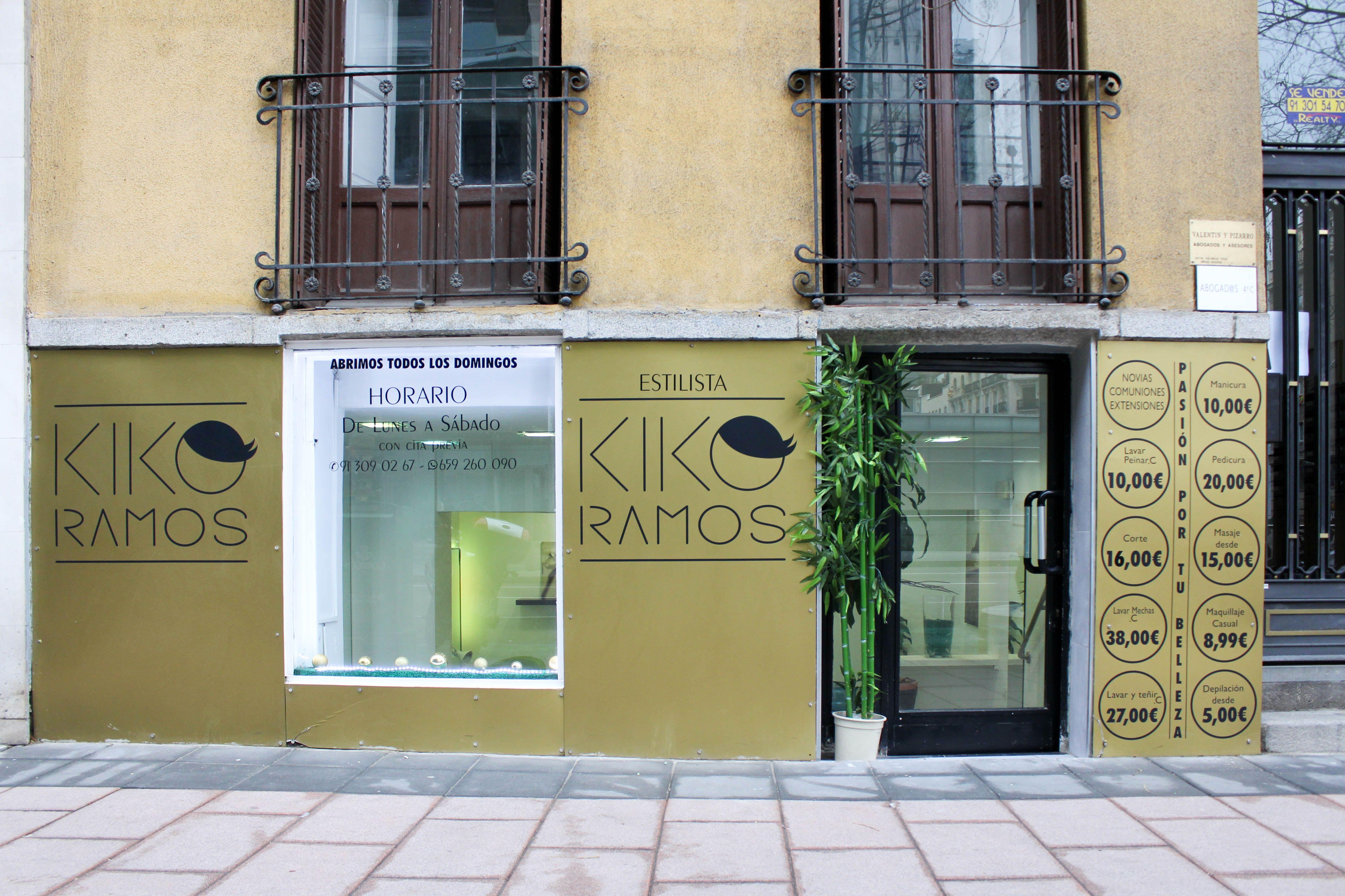 Foto 4 de Peluquerías de hombre y mujer en Madrid | Kiko Ramos