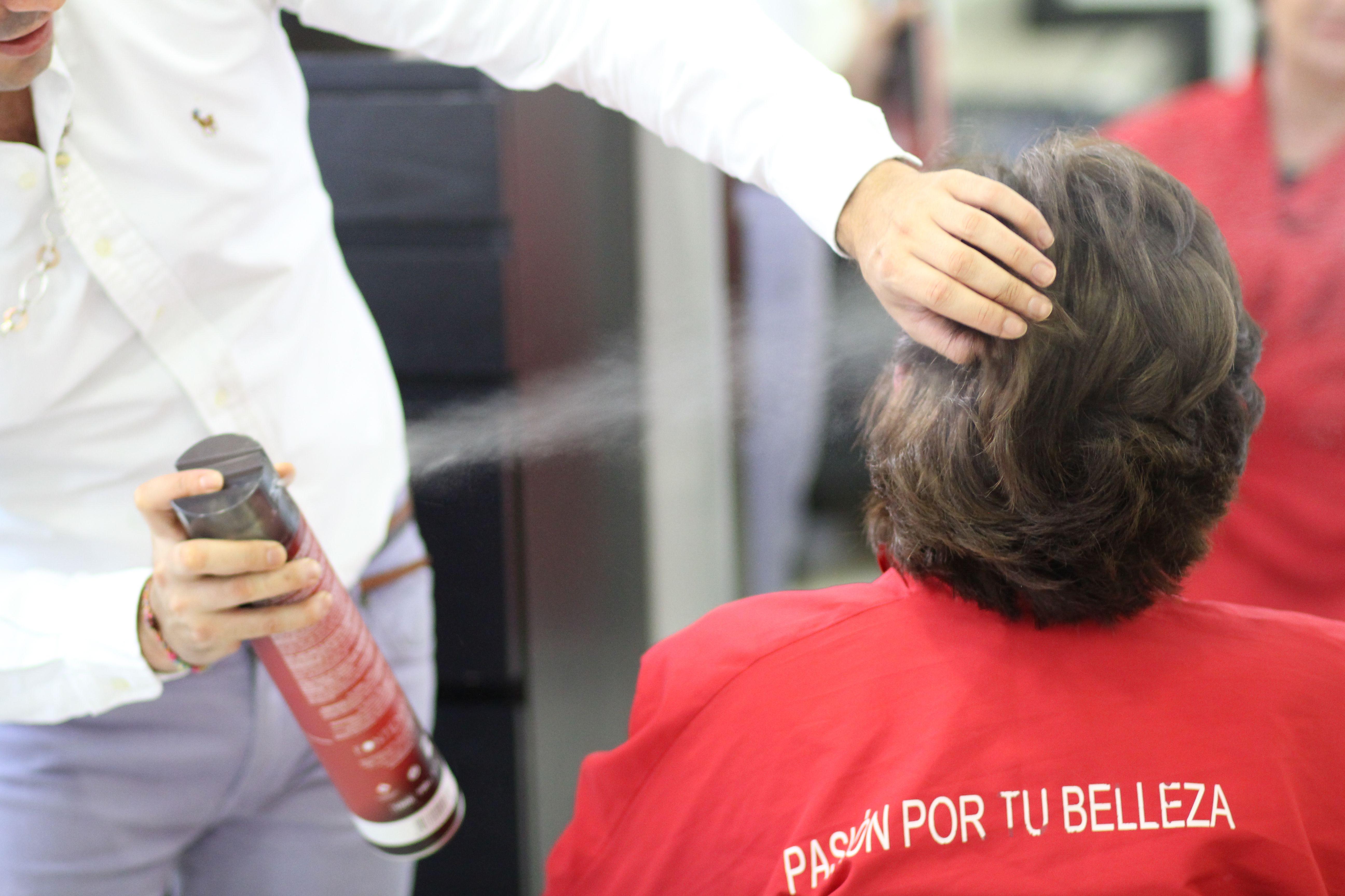 Salón de peluquería en pleno Barrio de Salamanca, Madrid