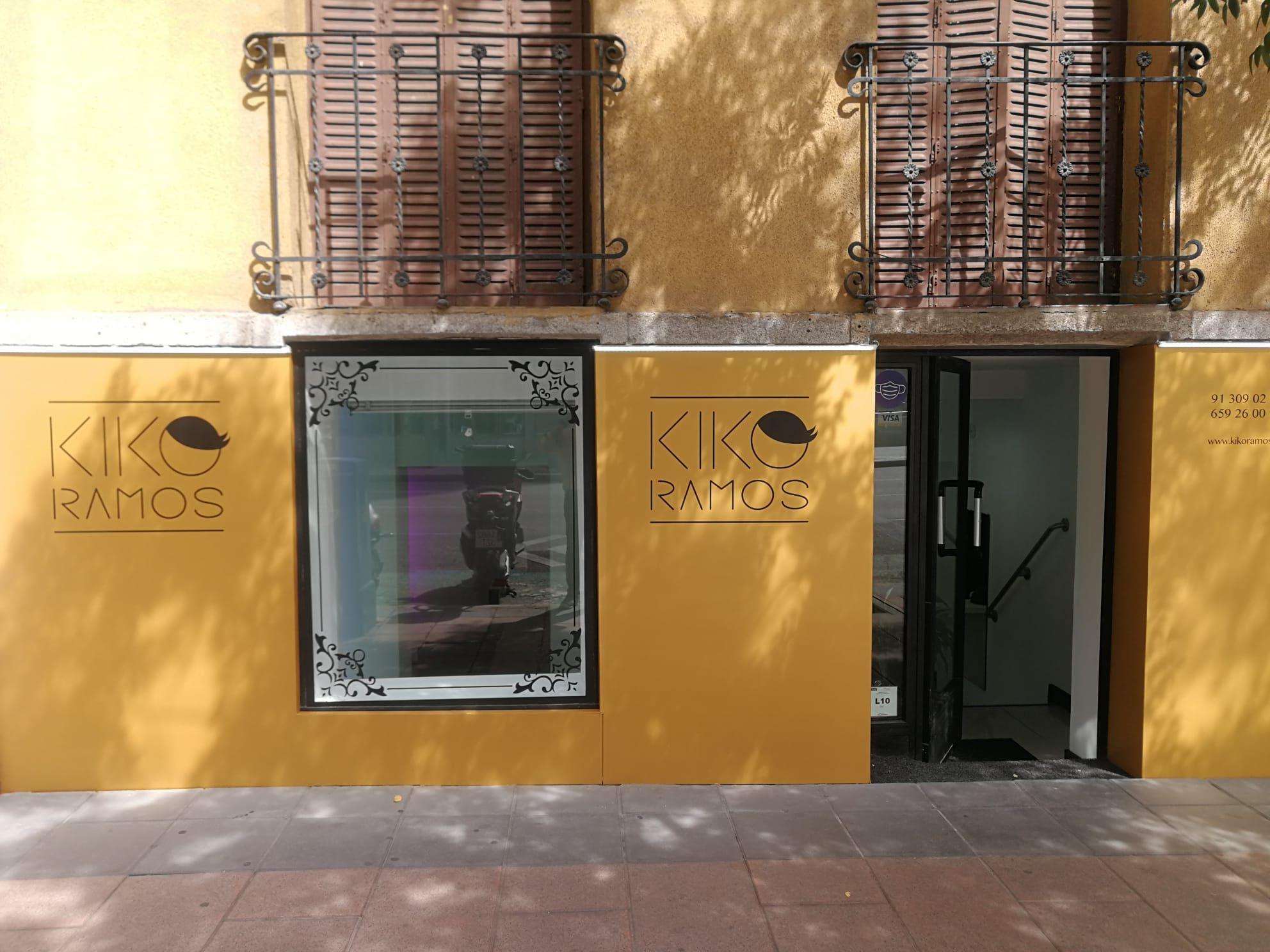 Peluquería en el barrio de Salamanca, Madrid