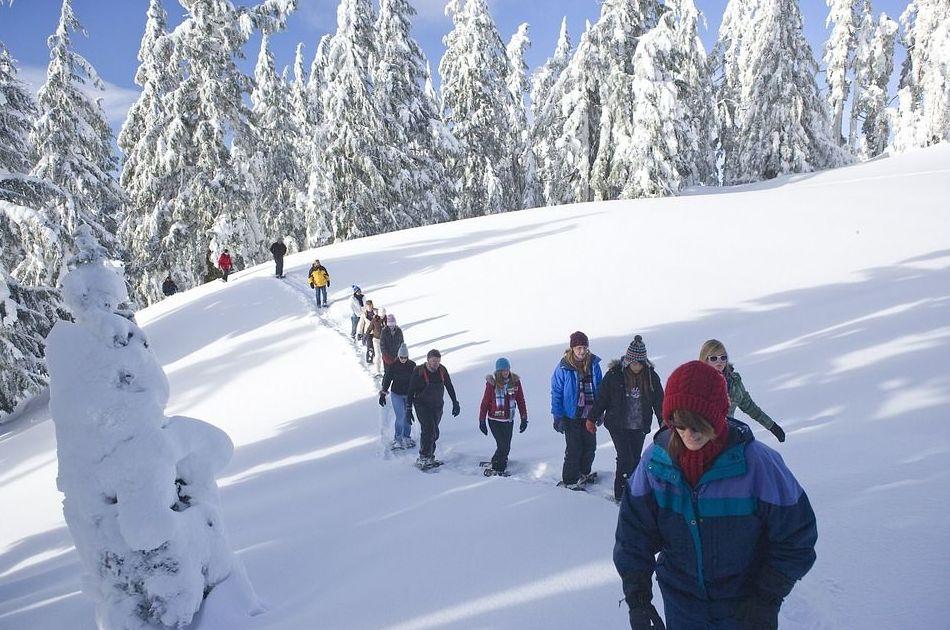 Excursiones en raquetas de nieve