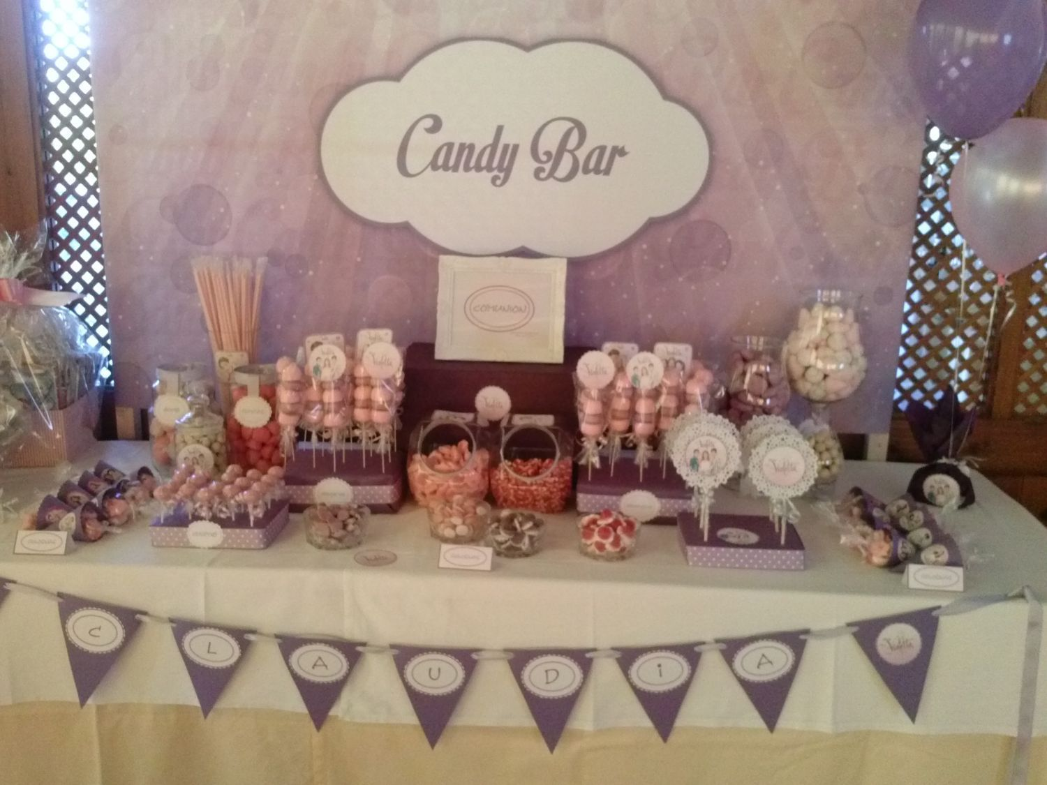Candy Bar y decoración: Productos de Diver Fiestas