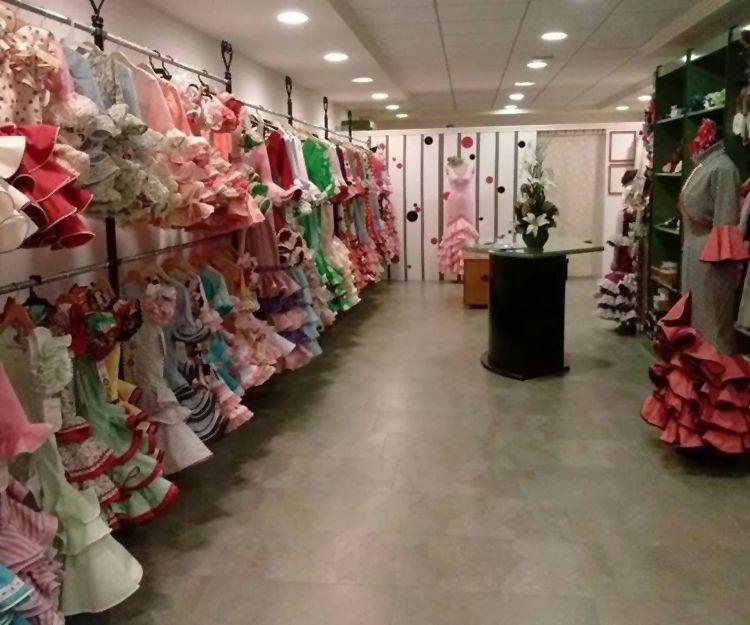 Venta de trajes de flamenca en Cuevas del Almanzora