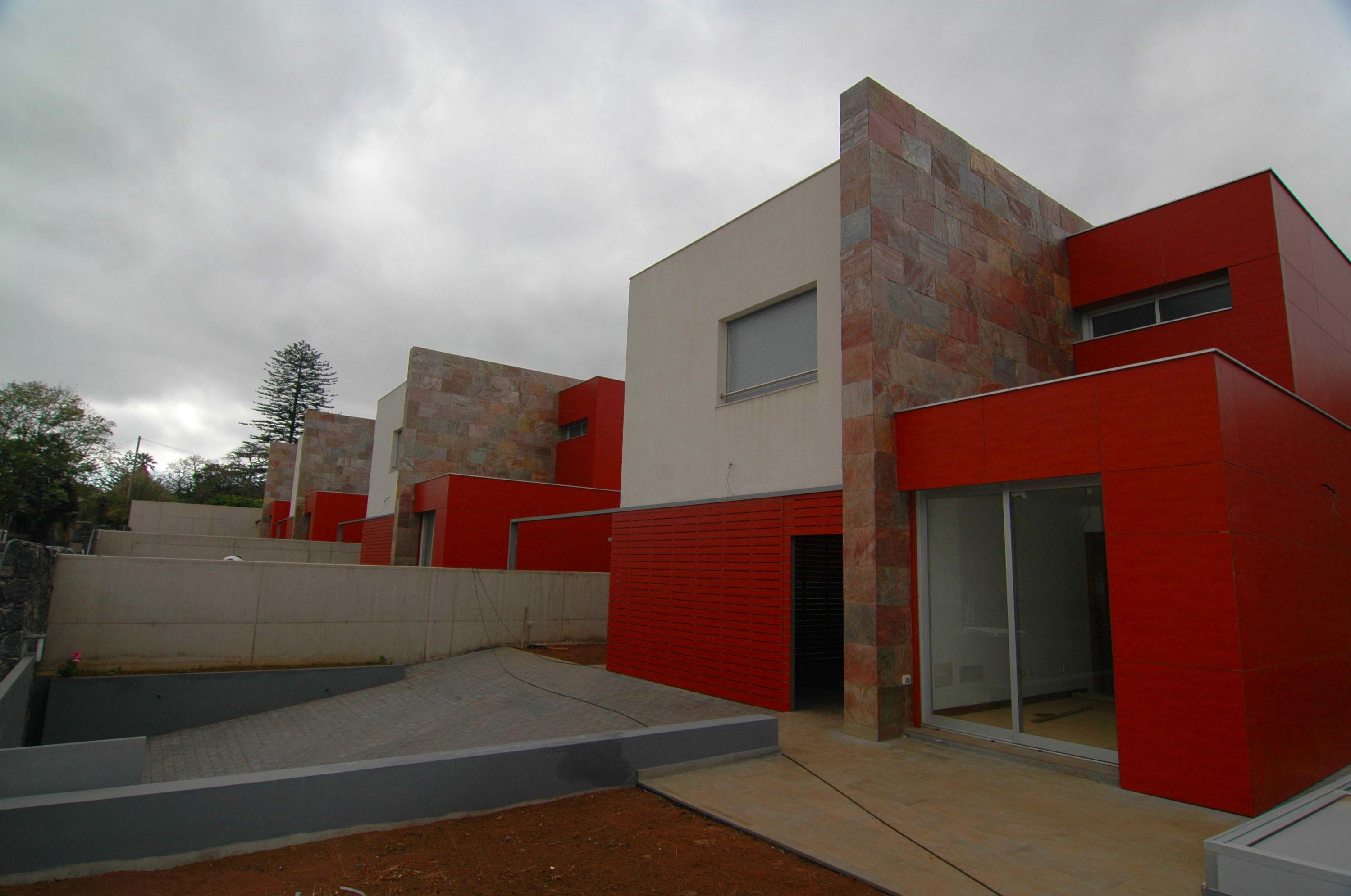 Construcción de 4 chalet en La Caridad, Tacoronte