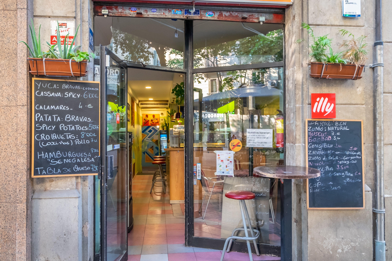 Restaurante senegales en Barcelona