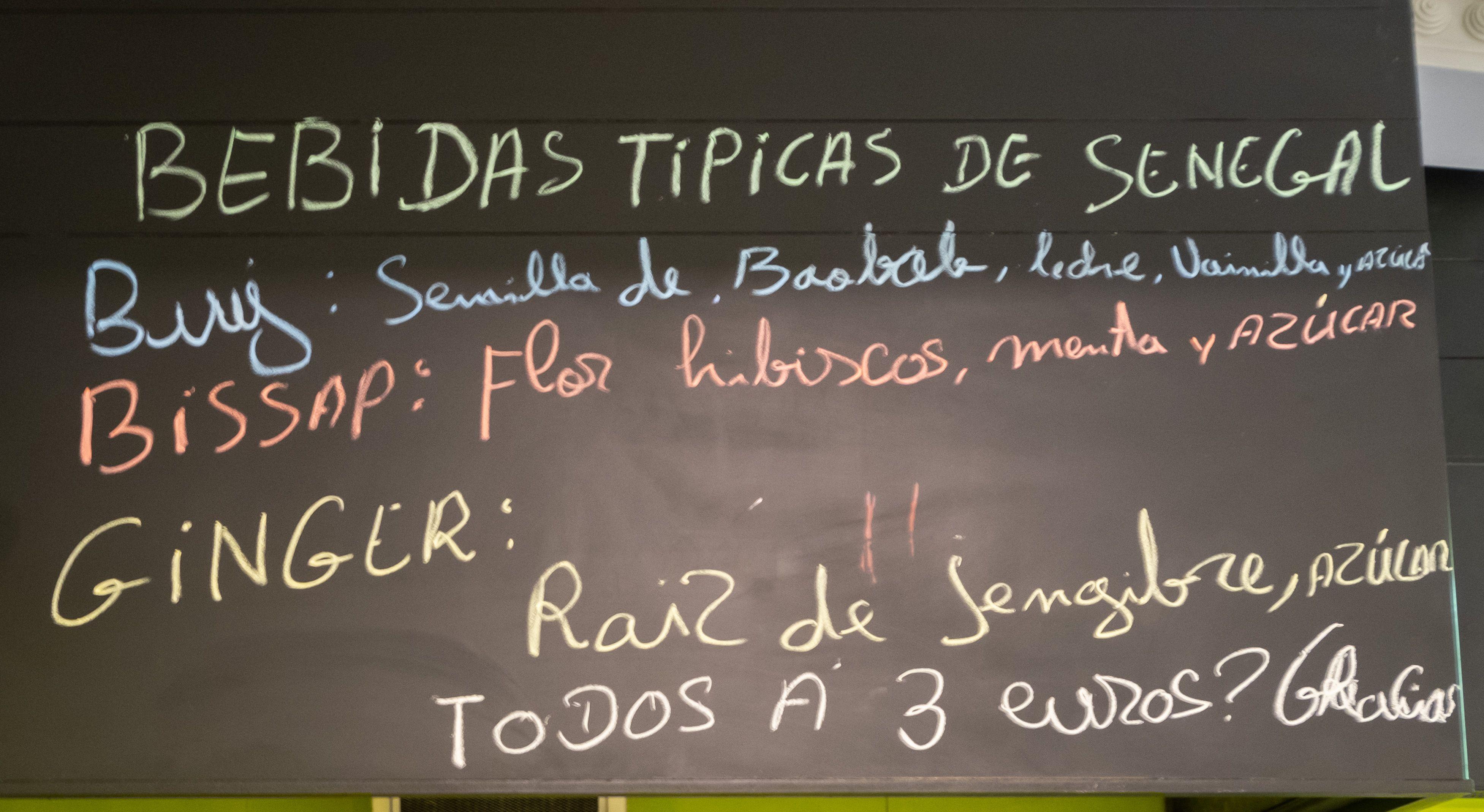 Comida senegalesa eixample en Barcelona