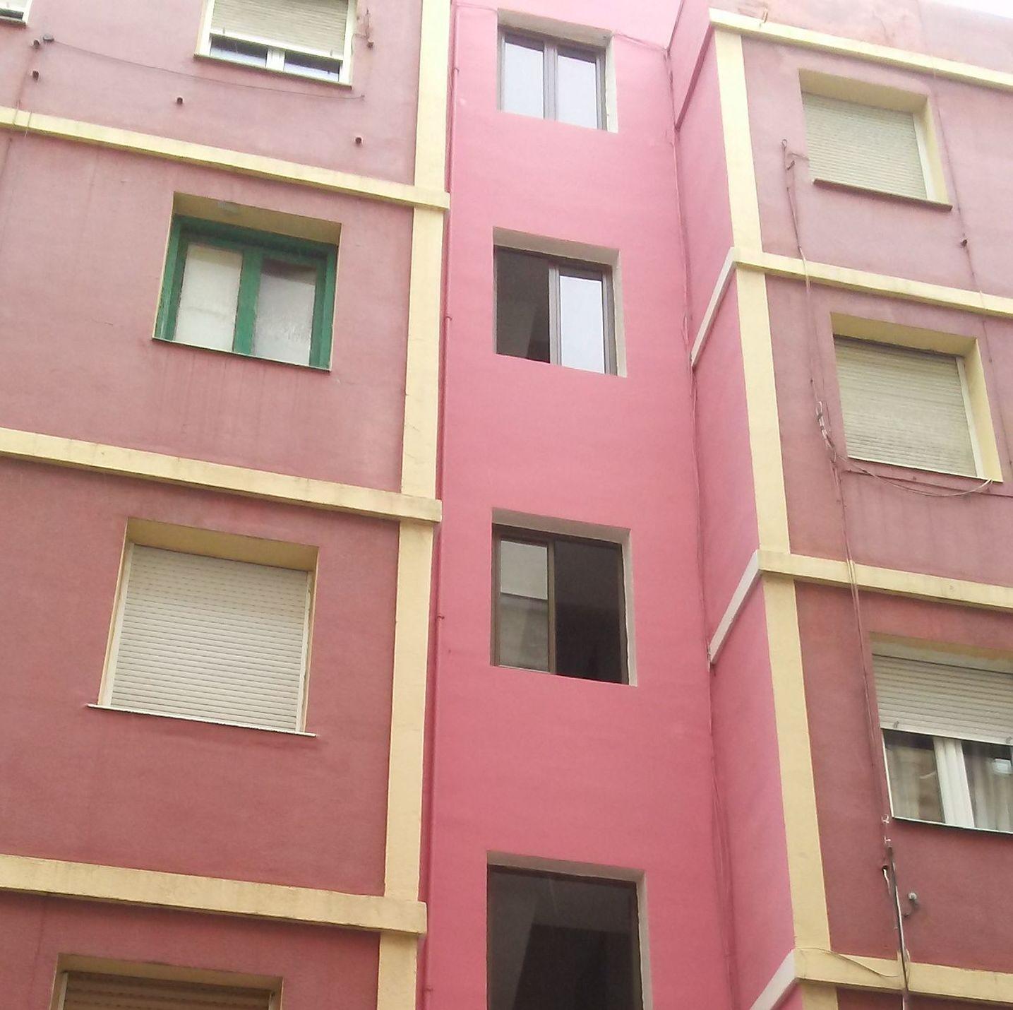 Final reforma fachada C/ San Luis 10. Santander