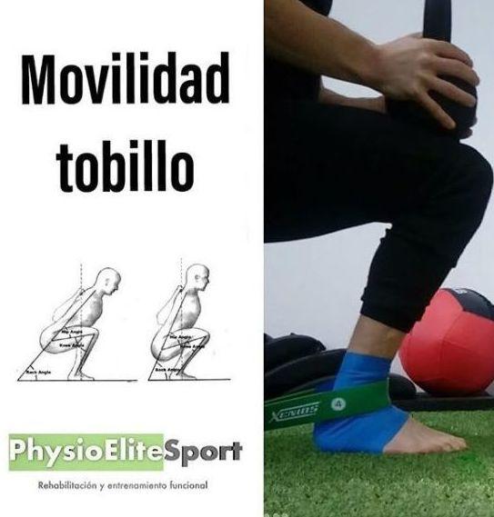Ejercicios Movilidad del tobillo