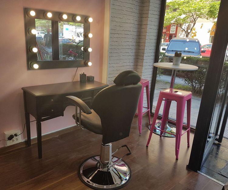 El rincón del maquillaje en Zaragoza