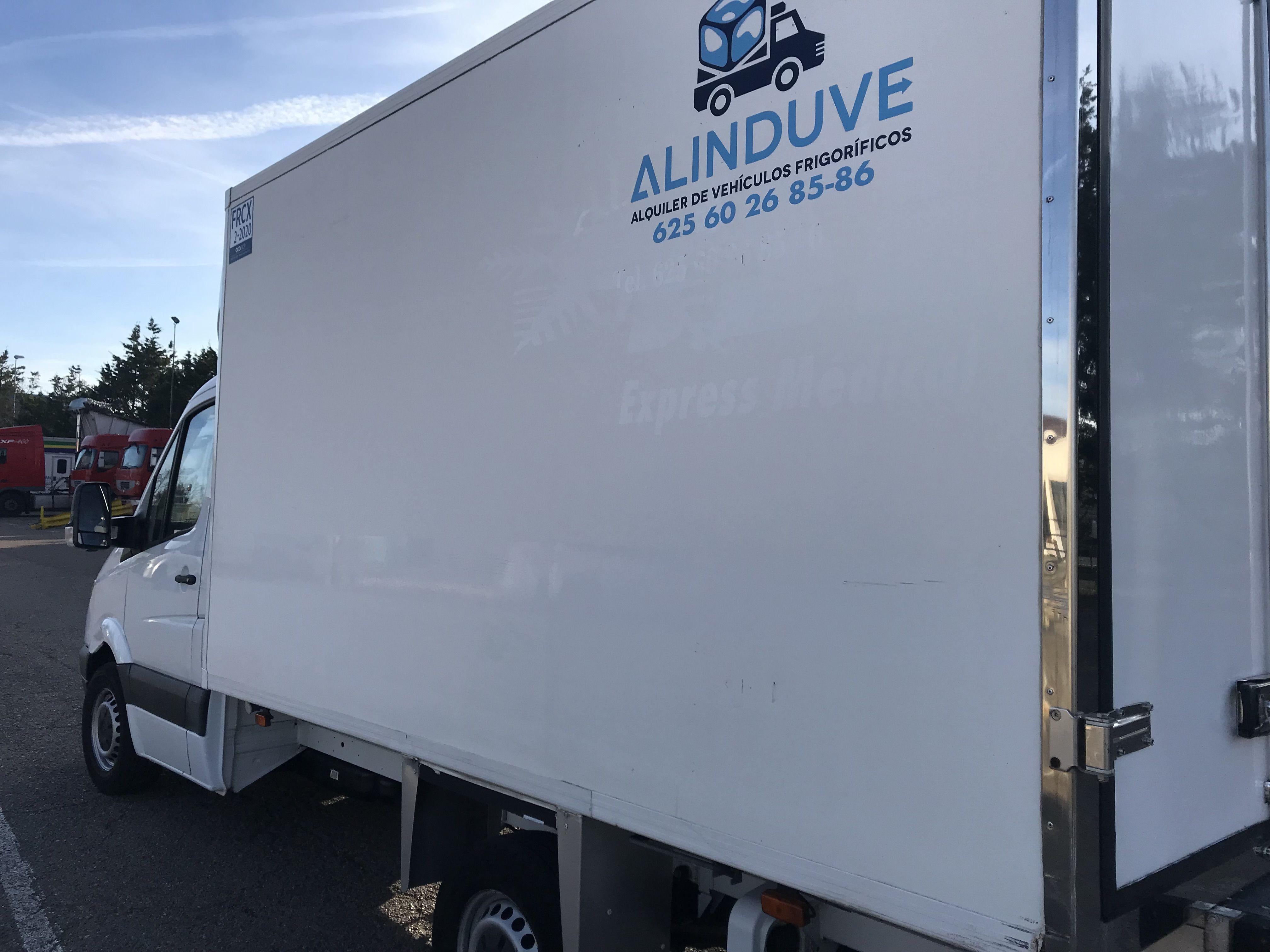 Vehículos de 20 metros cúbicos: Alquiler de vehículos de Alinduve