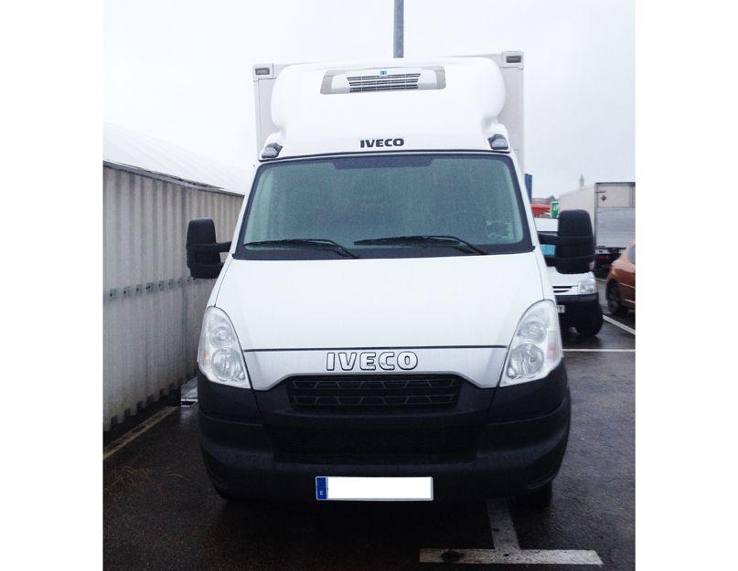 Alquiler de vehículos con equipos de frío en Cantabria