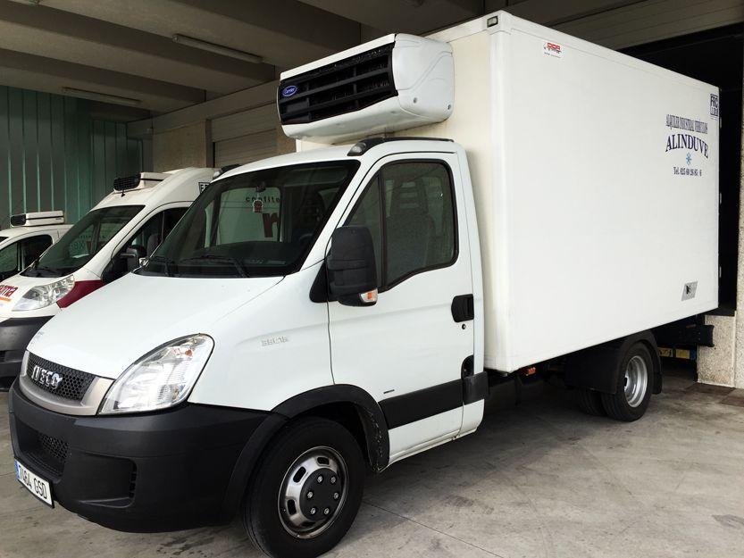 Empresa de vehículos frigoríficos en Samtander