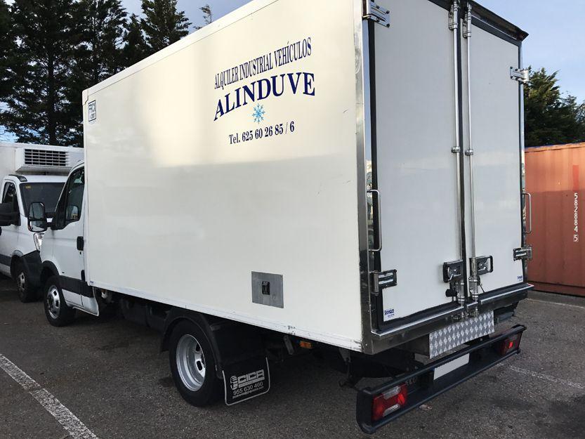 Alquiler de camiones frigoríficos en Santander