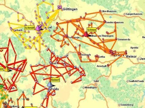 Planificación de territorios y rutas de pre-venta