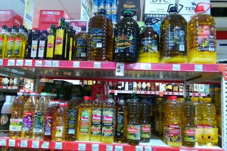 Venta de aceite en Tomelloso