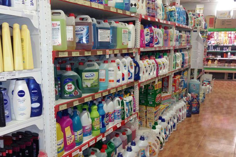 Supermercado en Manzanares - Venta de detergentes