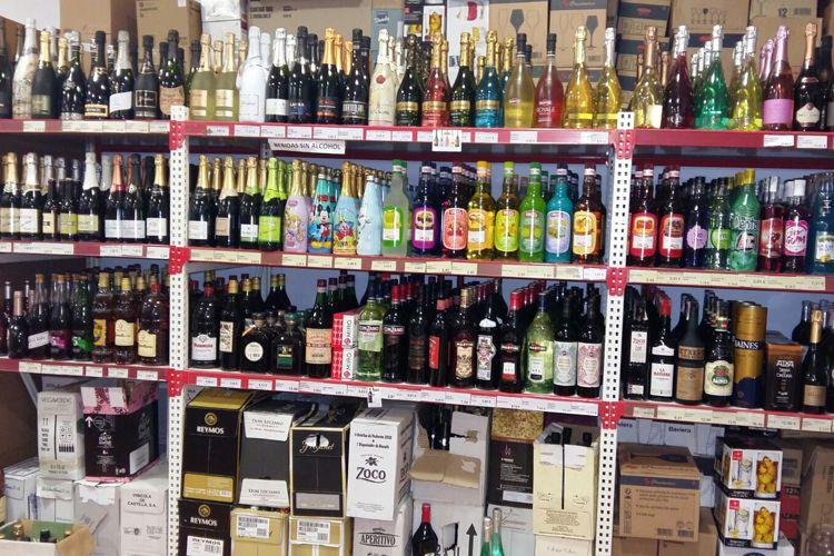 Supermercado en Manzanares - Venta de bebidas