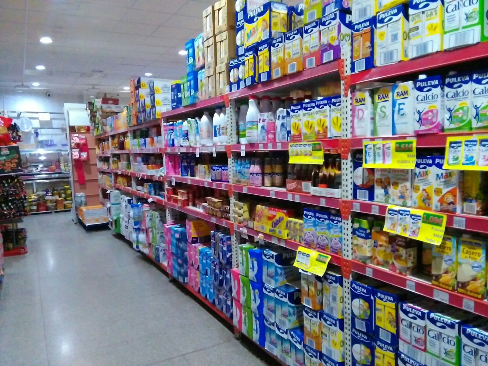 Lácteos: Productos de Cash Tomelloso