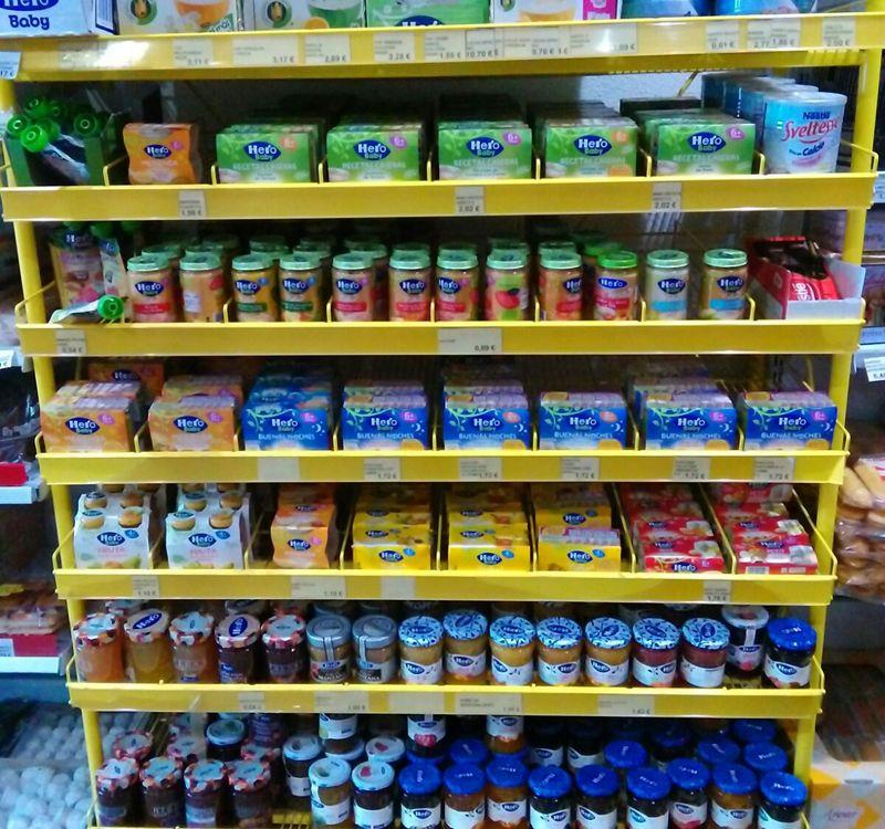 Venta de mermeladas en Tomelloso