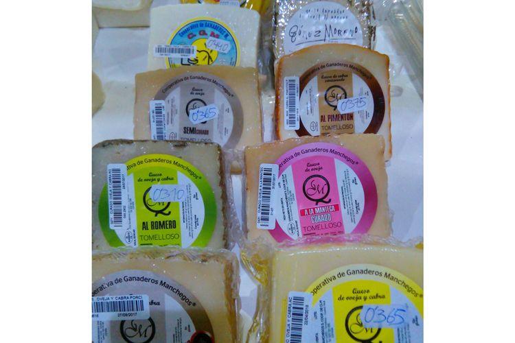 Venta de queso en Tomelloso