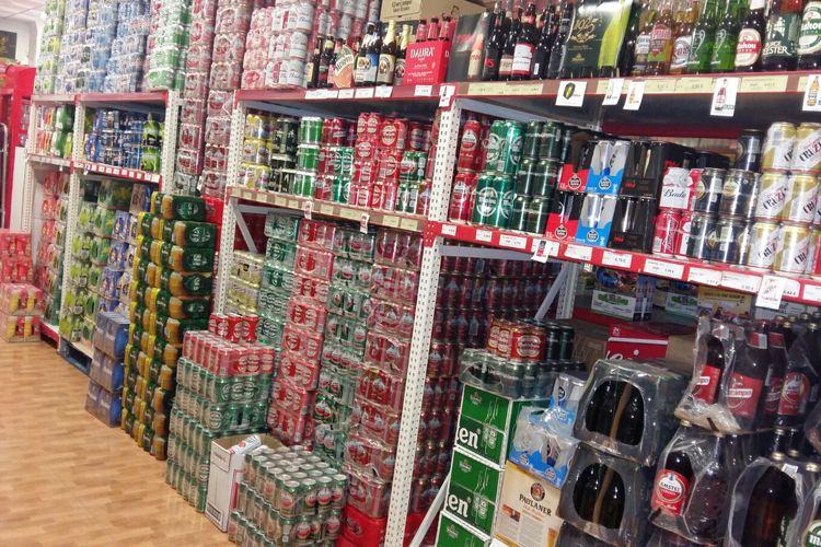 Supermercado en Manzanares - Venta de cervezas
