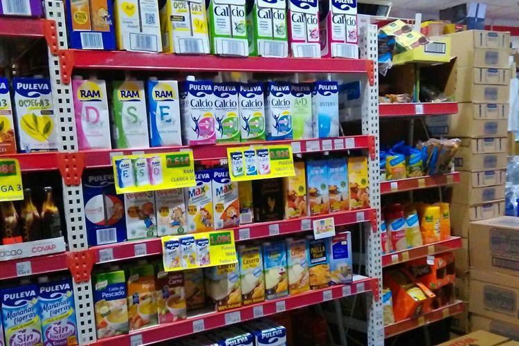 Venta de leche en Tomelloso