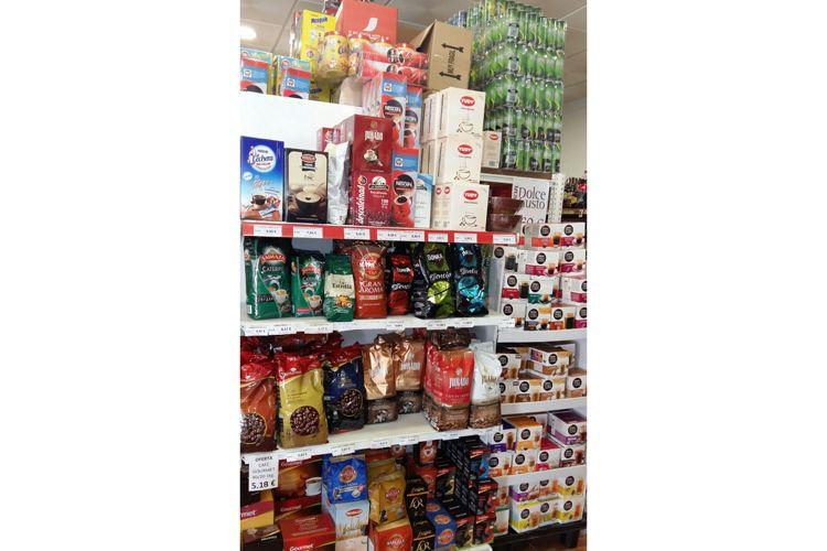 Supermercado en Manzanares - Venta de cafés