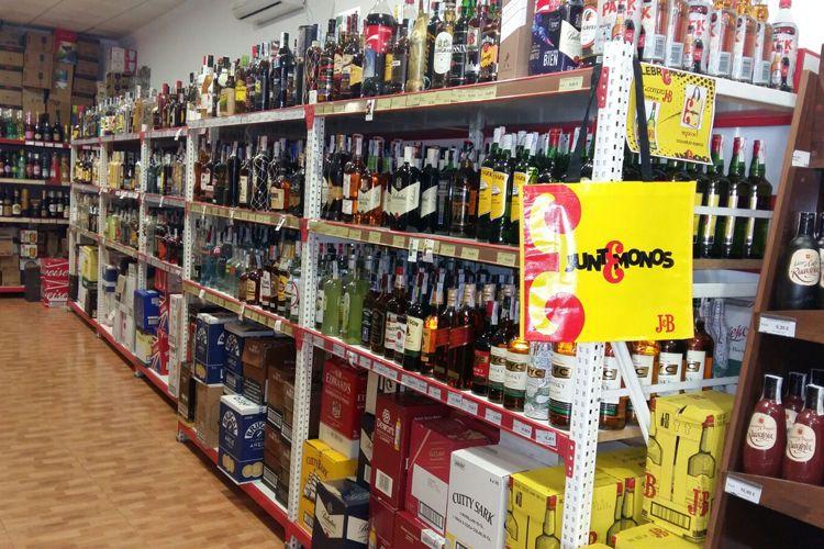 Supermercado en Manzanares - Bebidas alcohólicas