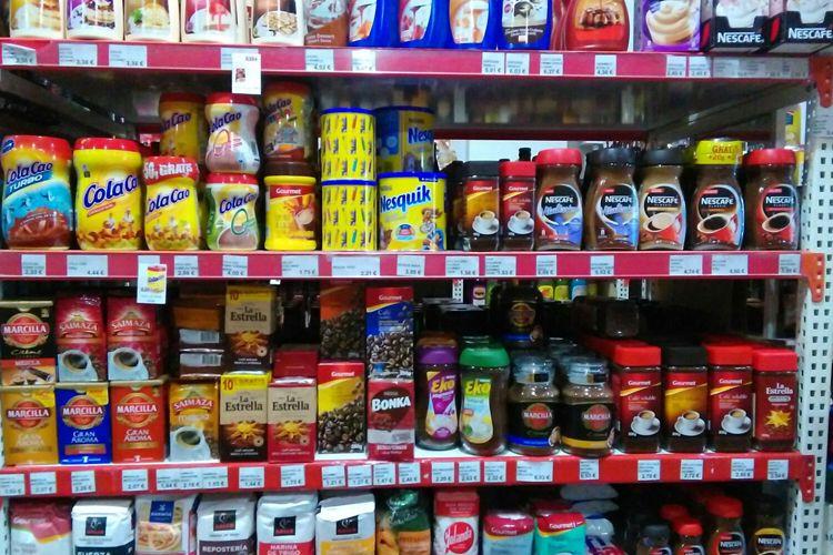 Venta de productos para el desayuno en Tomelloso