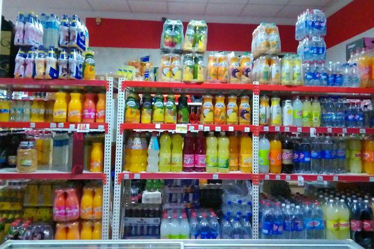 Venta de zumos en Tomelloso