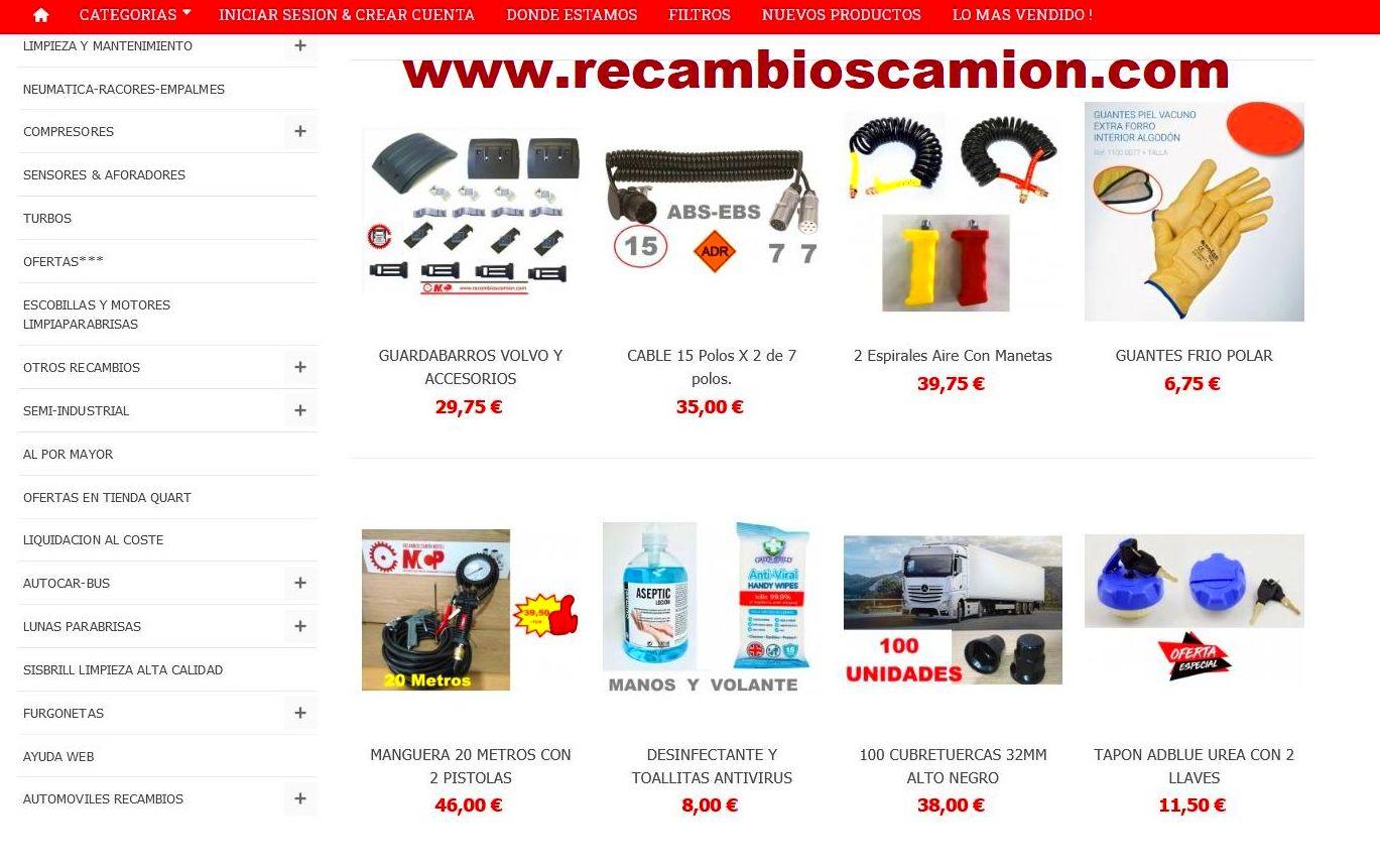 Foto 21 de Recambios y accesorios de todas las marcas para camiones y remolques en Cuart de Poblet   MCP