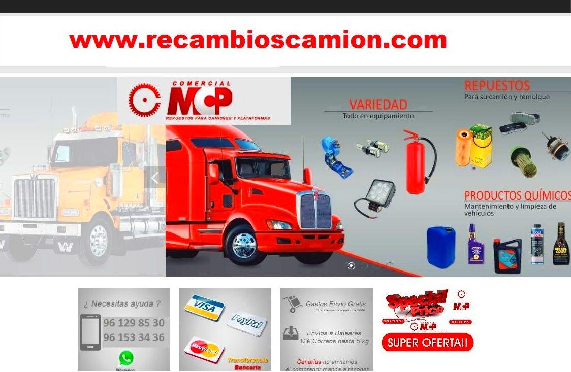 Foto 15 de Recambios y accesorios de todas las marcas para camiones y remolques en Cuart de Poblet | MCP