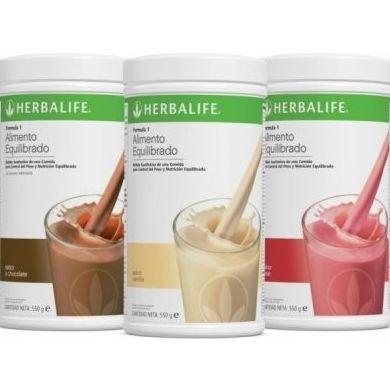 ¡¡FORMULA 1!! Deliciosa Comida Saludable con los nutrientes que necesitamos. Hay 7 sabores diferentes!!
