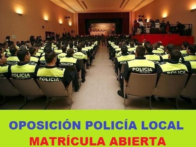 Academia on line oposiciones policia local