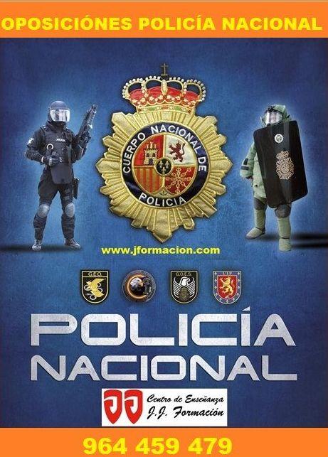 Academia on line oposiciones policia nacional