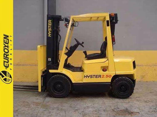 Carretilla diesel HYSTER Nº 5692: Productos y servicios de Comercial Euroyen, S. L.
