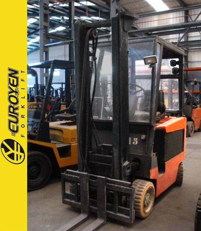 Carretilla eléctrica YALE Nº 5068: Productos y servicios de Comercial Euroyen, S. L.