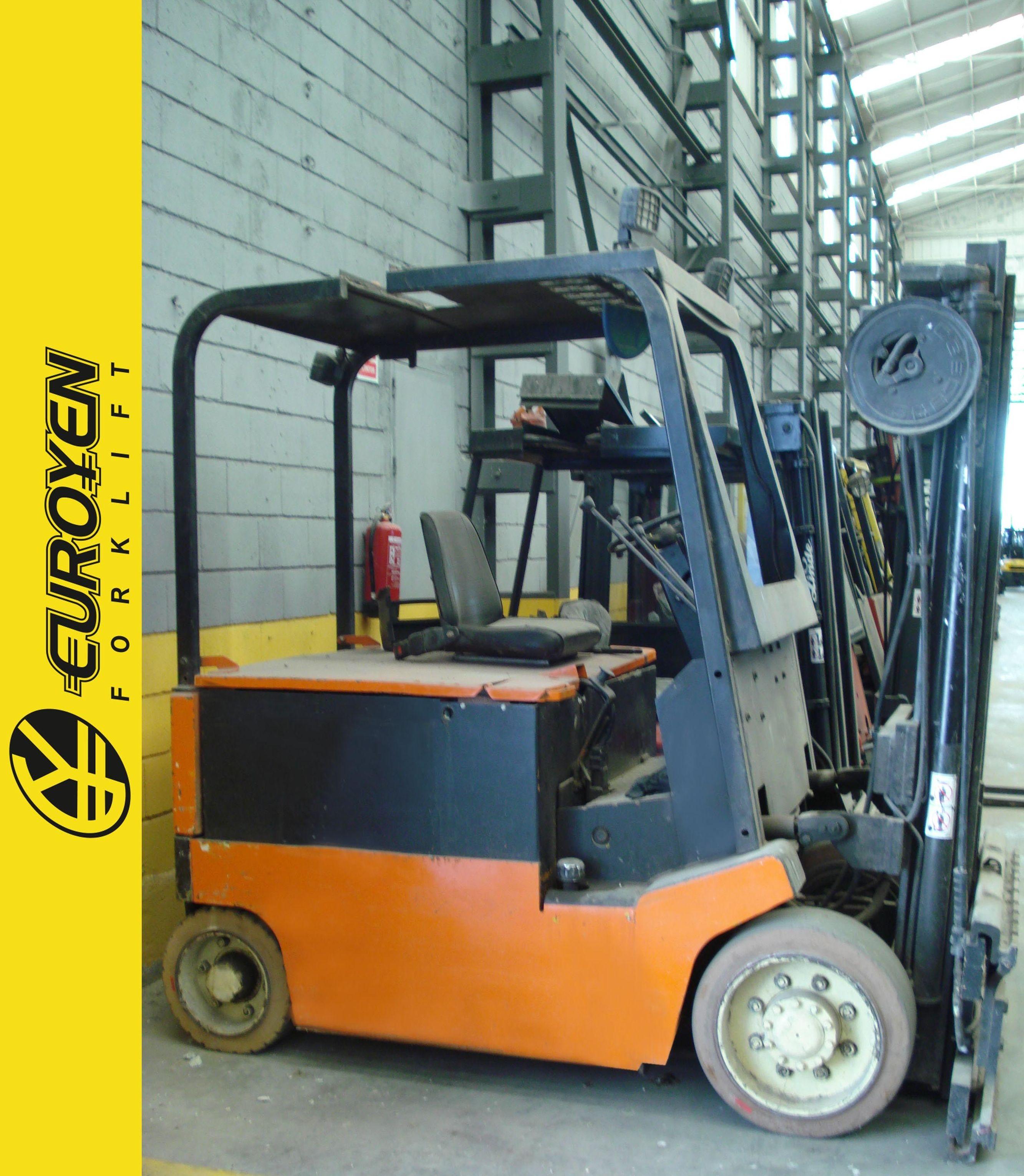Carretilla eléctrica YALE Nº 5282: Productos y servicios de Comercial Euroyen, S. L.