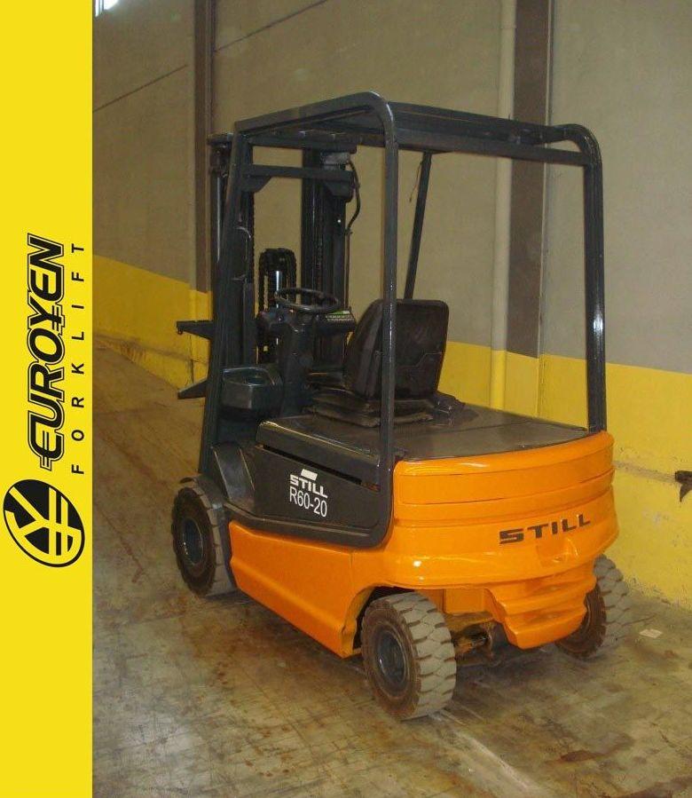 Carretilla eléctrica STILL Nº 5858: Productos y servicios de Comercial Euroyen, S. L.