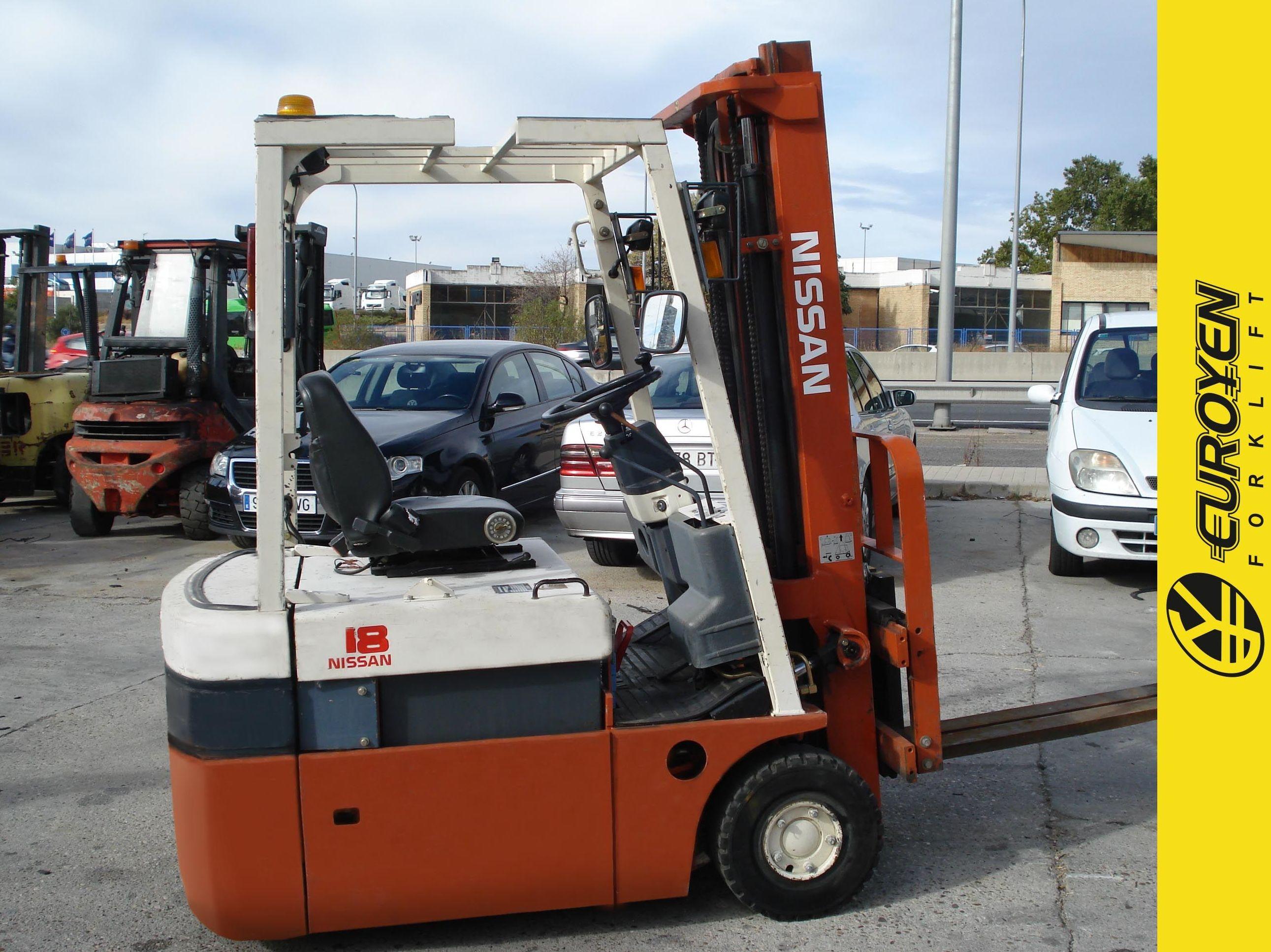 Carretilla eléctrica NISSAN Nº 6133: Productos y servicios de Comercial Euroyen, S. L.