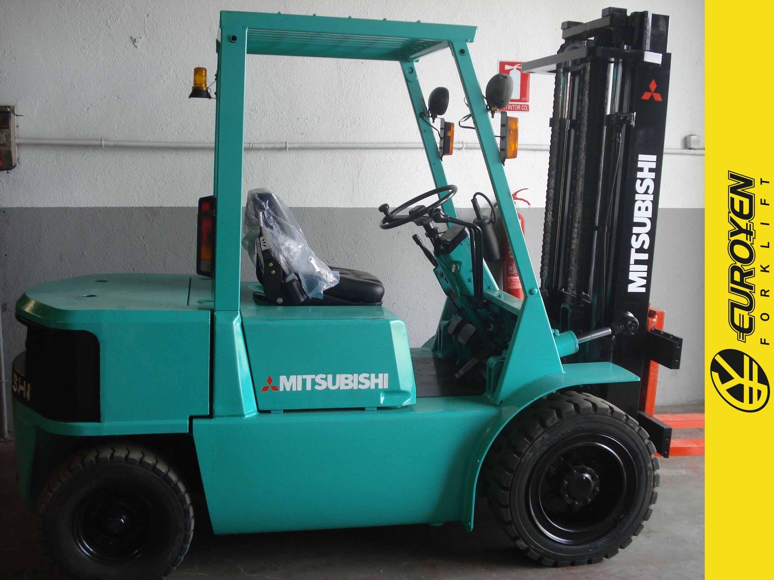 Carretilla diesel MITSUBISHI Nº 5840: Productos y servicios of Comercial Euroyen, S. L.