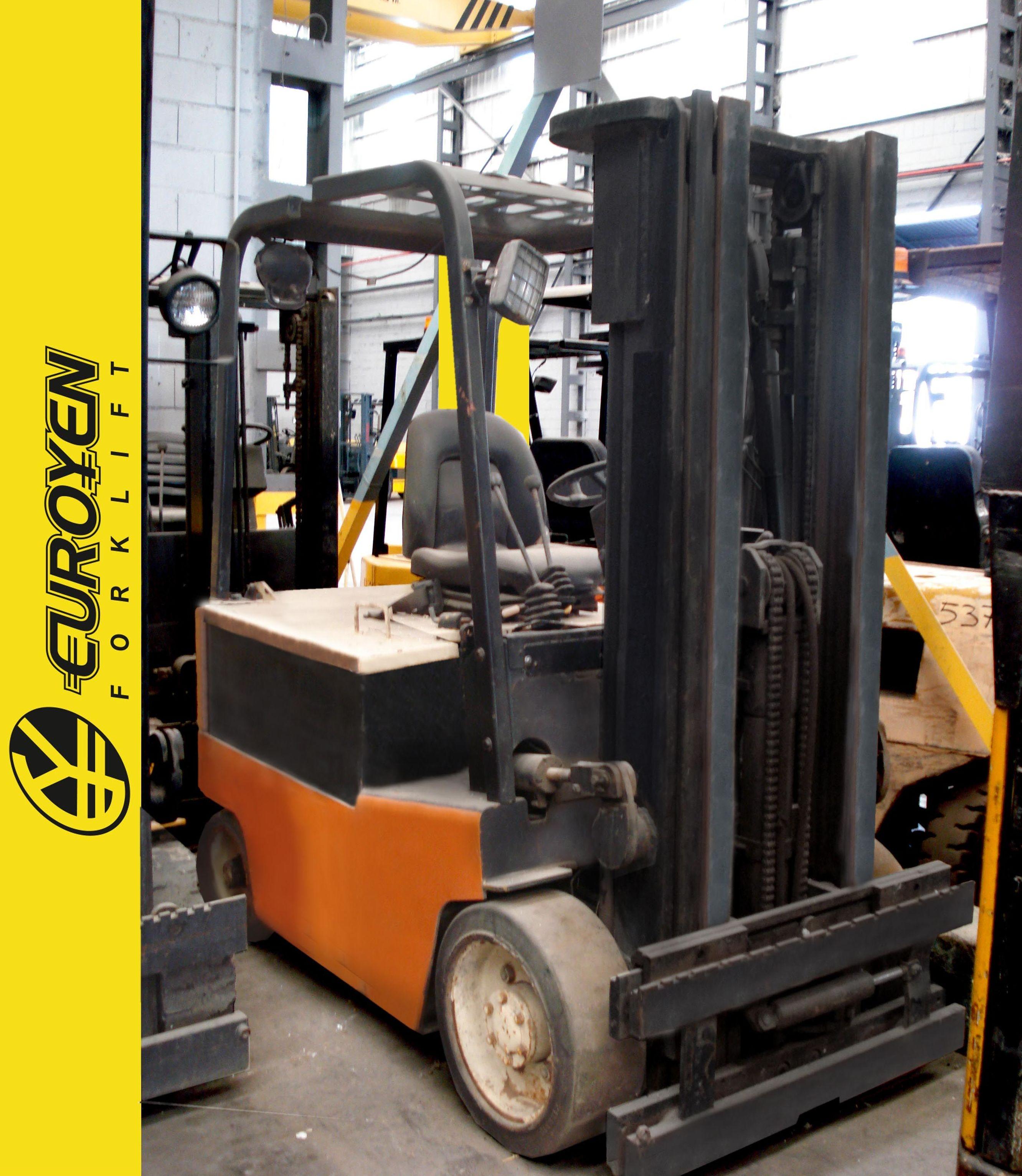 Carretilla eléctrica YALE Nº 5183: Productos y servicios de Comercial Euroyen, S. L.