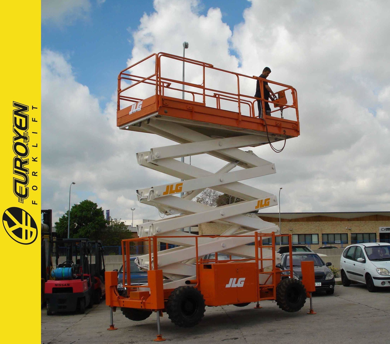 Plataforma eléctrica J.L.G. Nº 5966: Productos y servicios de Comercial Euroyen, S. L.